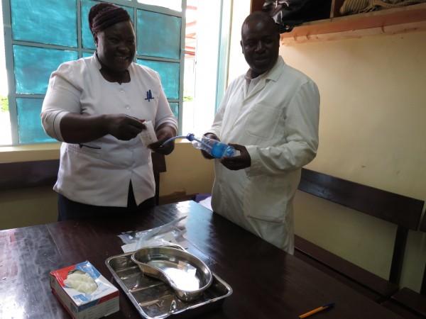 EmONC mentoring in Bungoma County, Kenya