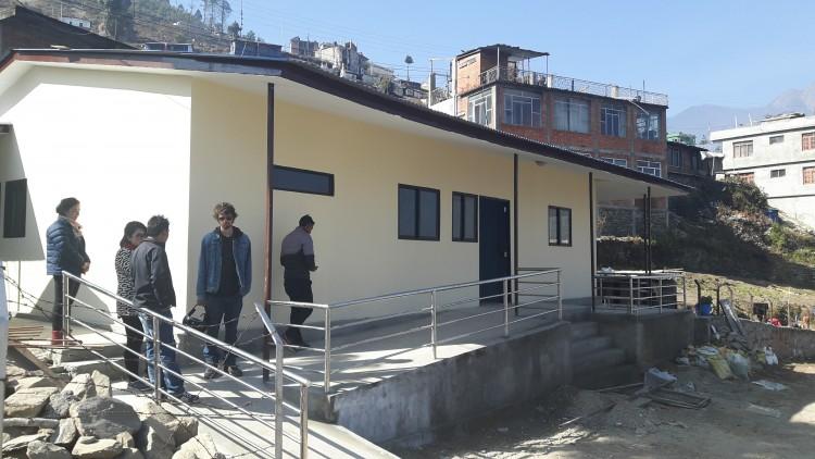Prefabricated health facility, Dhunche, Rasuwa