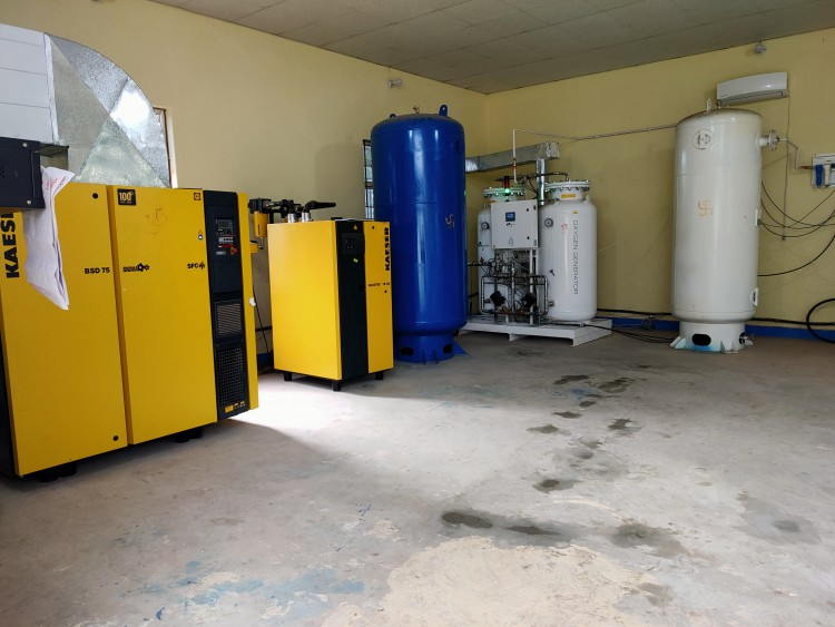 Pressure Swing Adsorption Process (PSA) technology installed by NHSSP