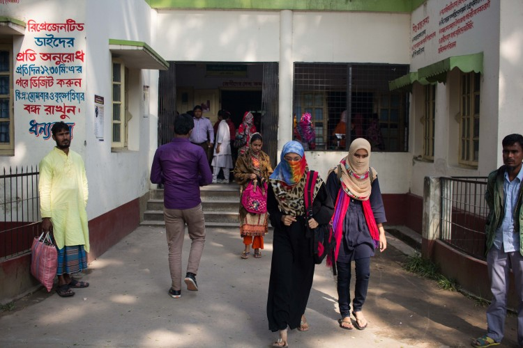 Better distribtution of health services across three municipalities in Bangladesh
