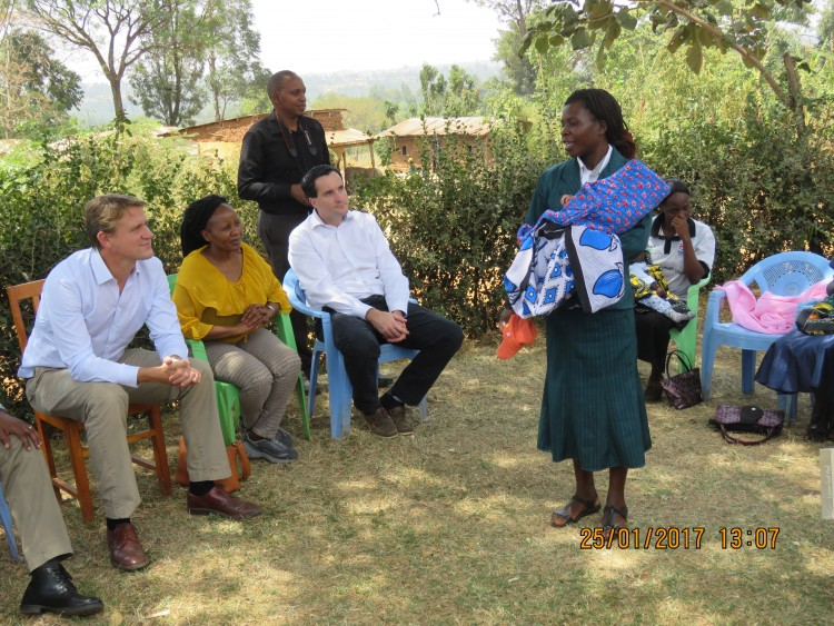 Meeting local community health volunteers
