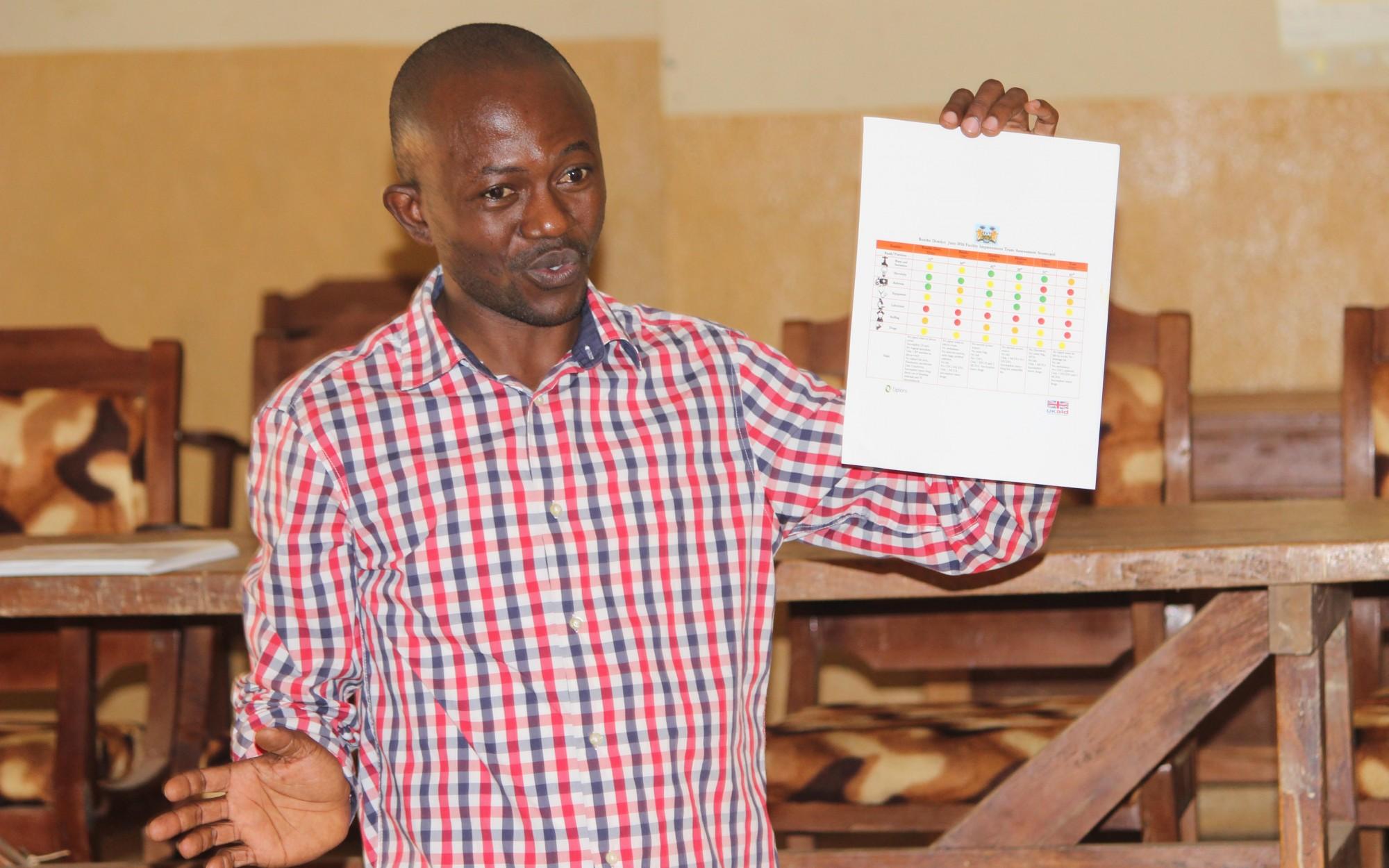 Using scorecards in Sierra Leone