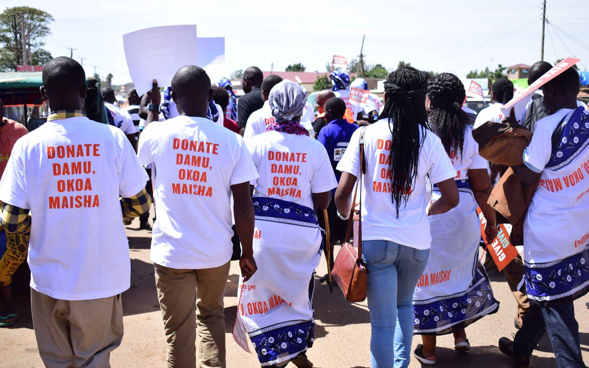 E4A-MamaYe blood campaign, Bungoma County, 2019