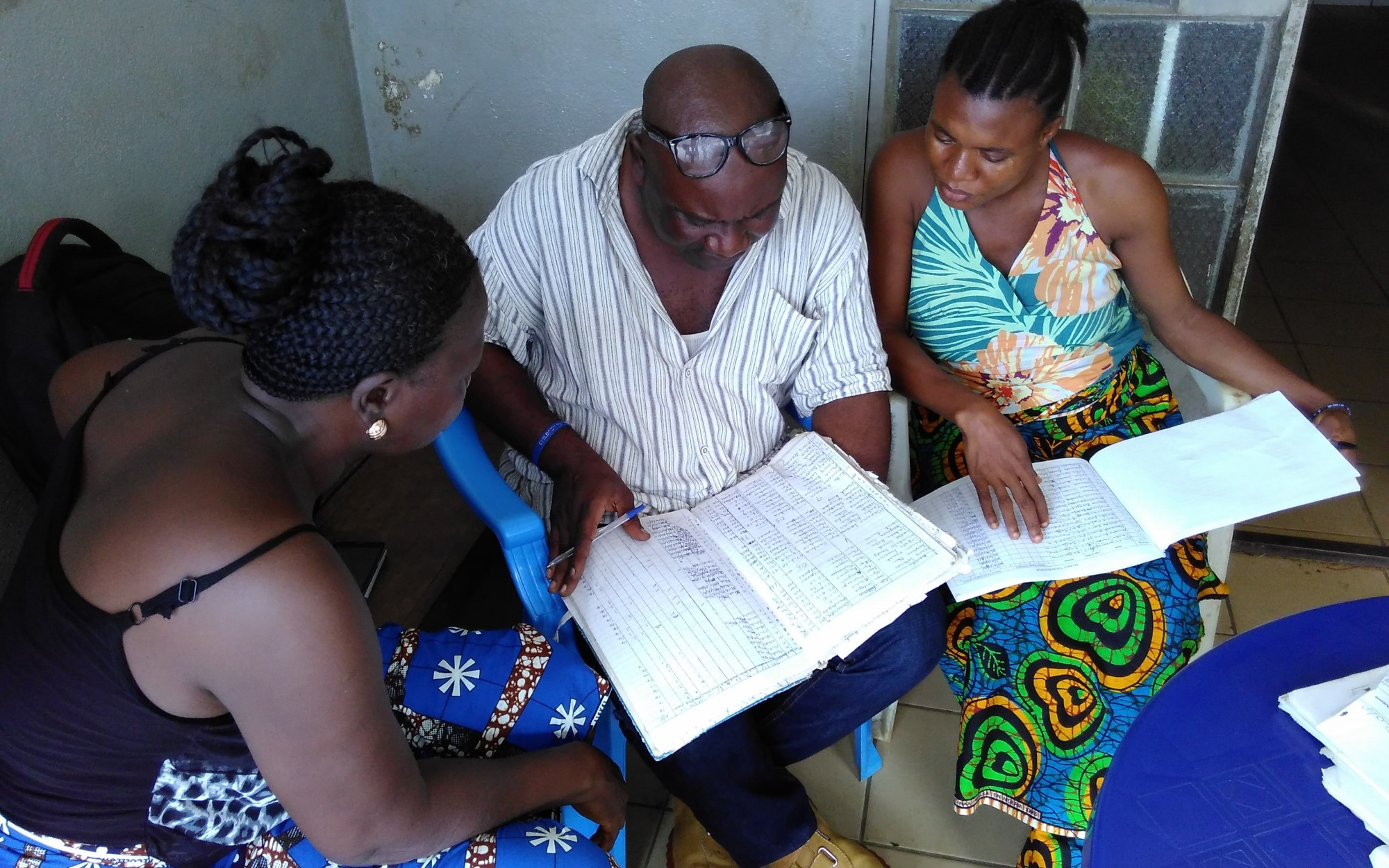 Health Management Information System mentoring in Sierra Leone