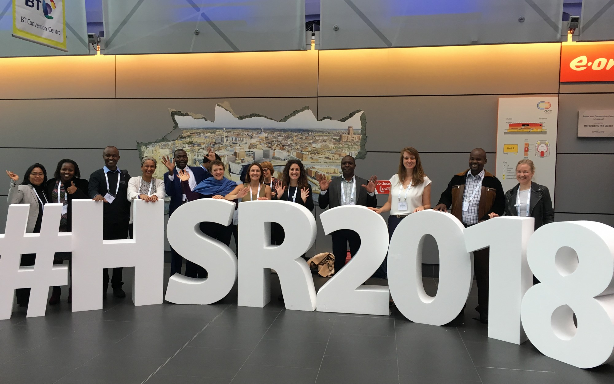 Options team at Health Systems Research Symposium 2018