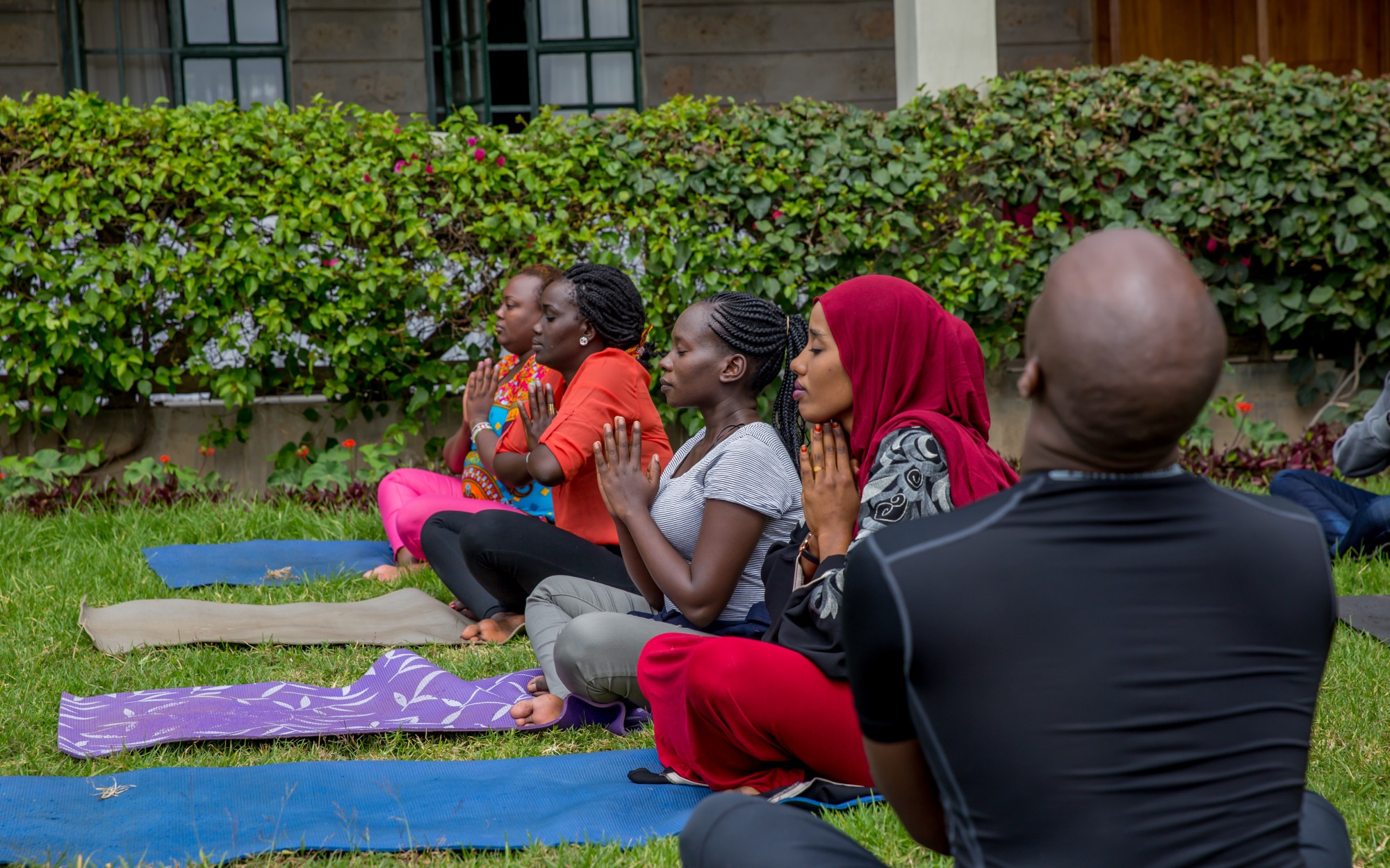 Emotional Wellbeing workshop in Kenya