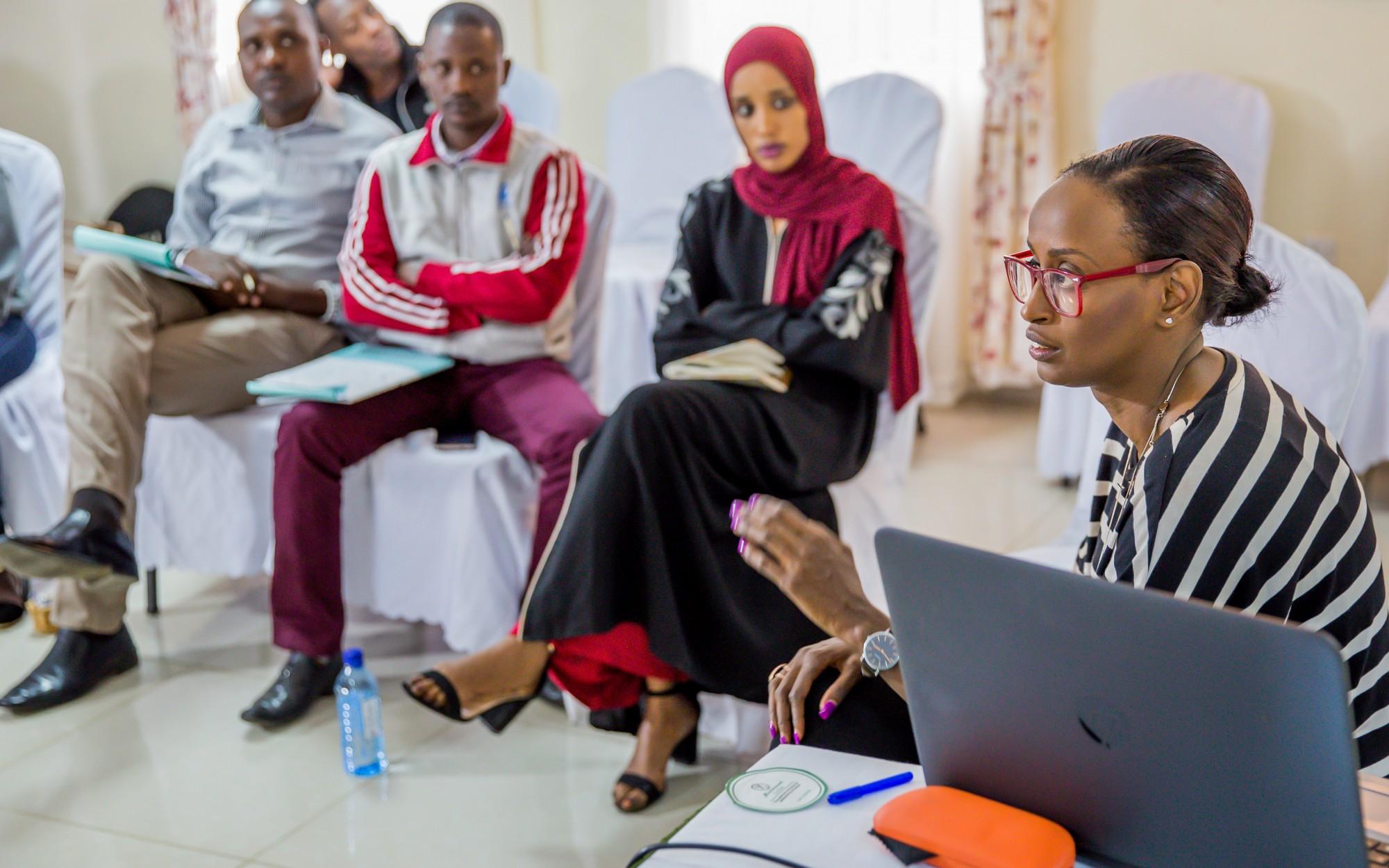 Emotional Wellbeing workshop in Kenya