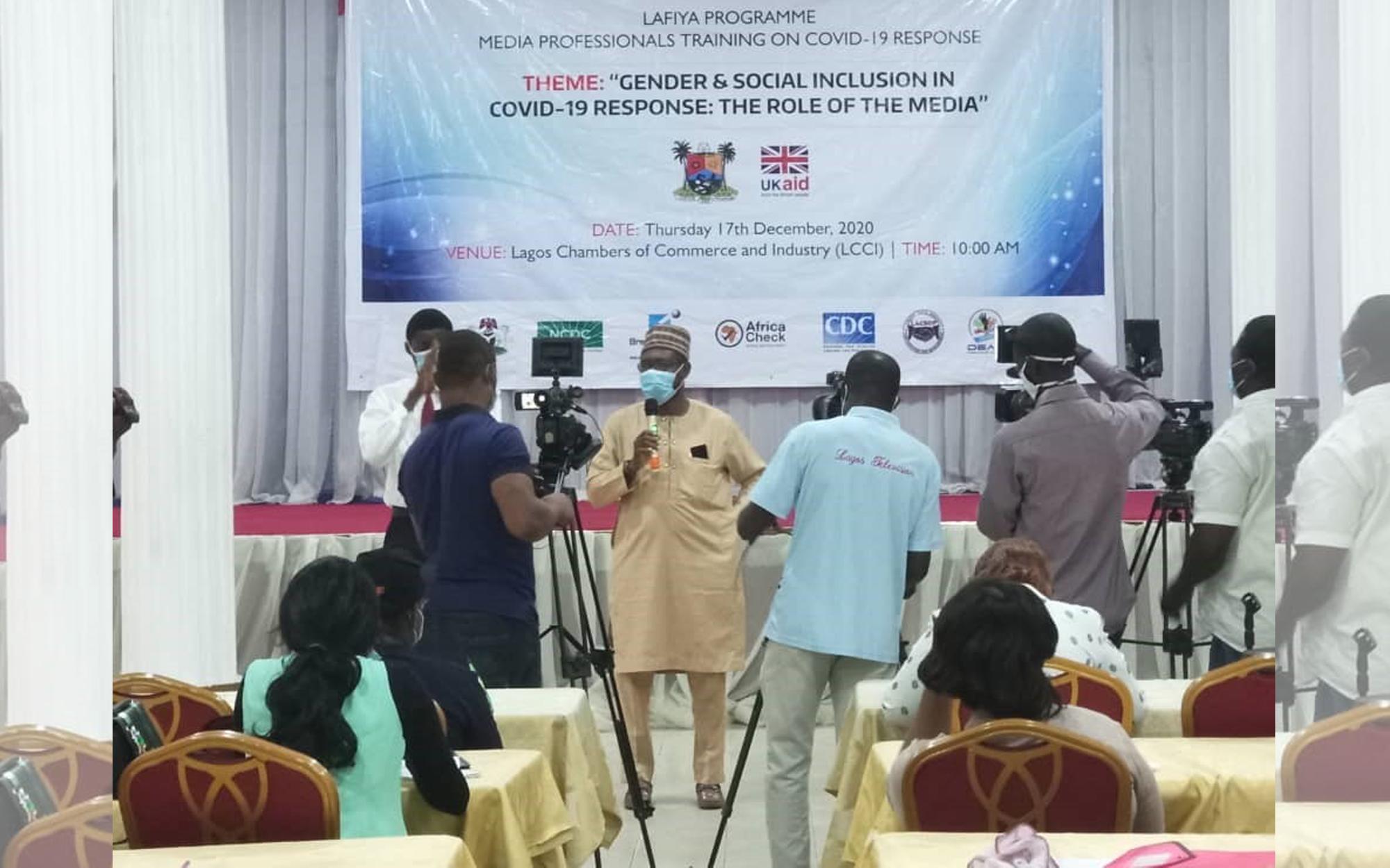 Media training in Lagos