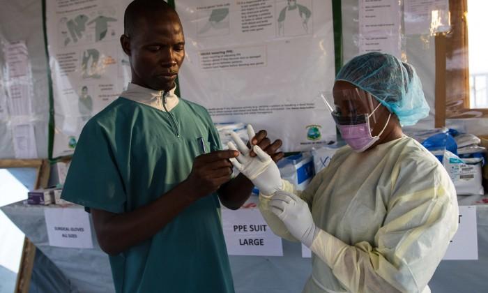 Siah Tamba, Ebola survivor and Ebola hero (UNMEER, 2015)