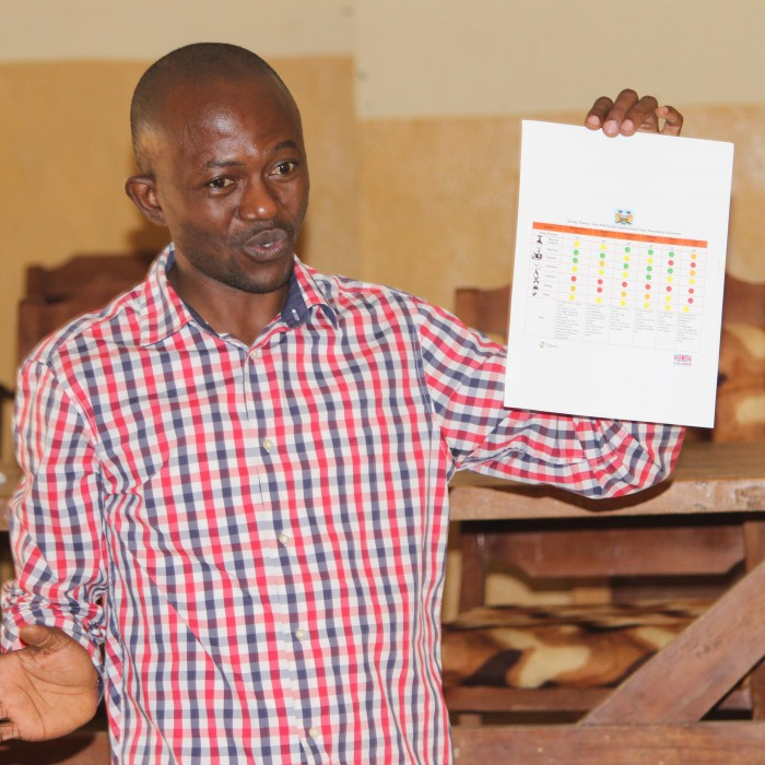 Using scorecards in Sierra Leone