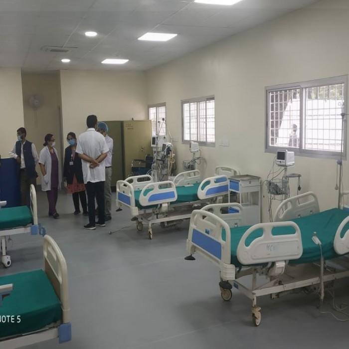 BKT COVID-19 treatment wards