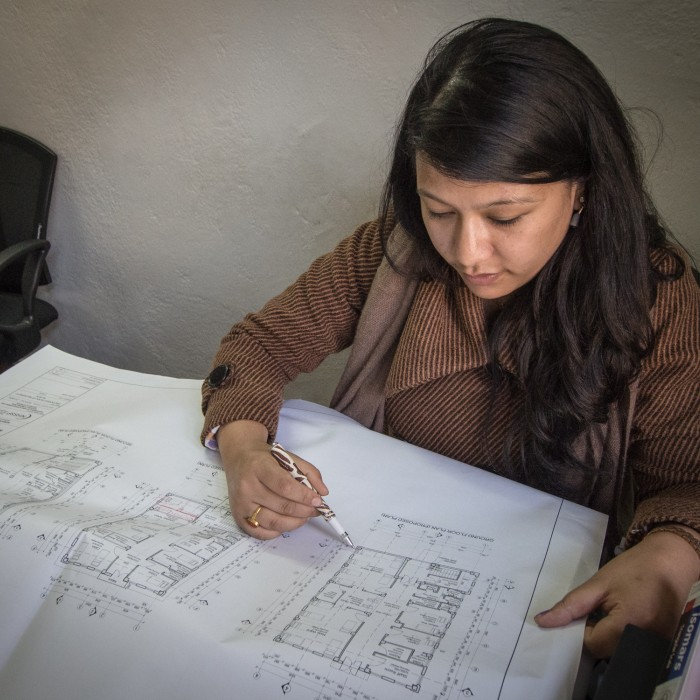 Pujita, Architect, NHSSP Nepal